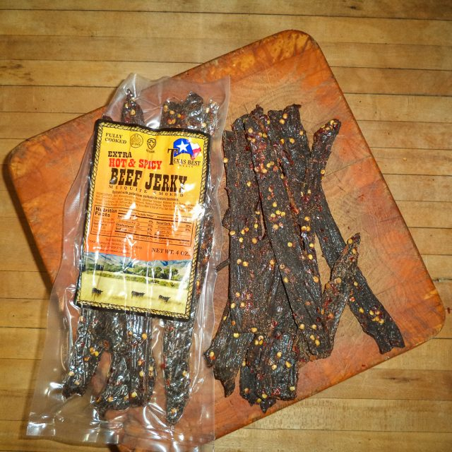 HOT Beef Jerky, 4 oz.