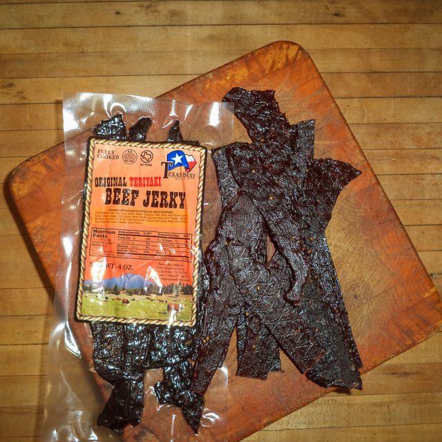 Mild Teriyaki Beef Jerky 4 oz.